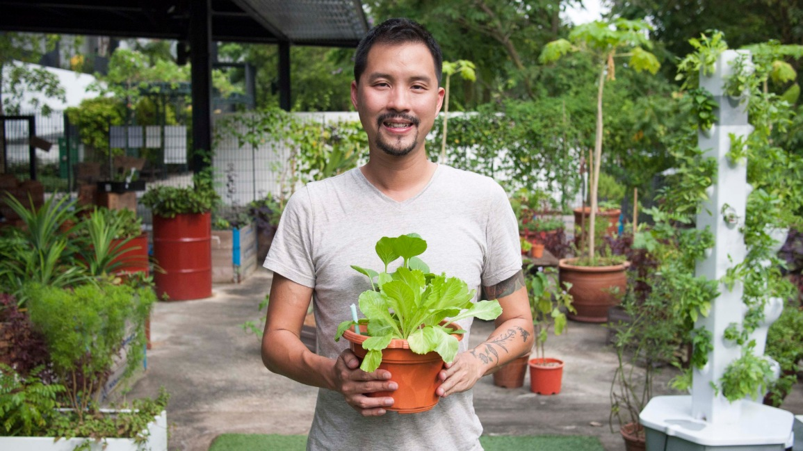 Bjorn Low, Founder and Managing Director, Edible Garden City
