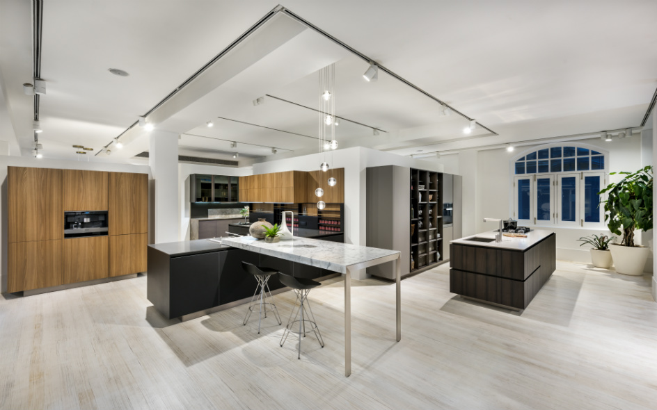 Poliform Kitchen Gallery on L1 of The Villa at Space Furniture