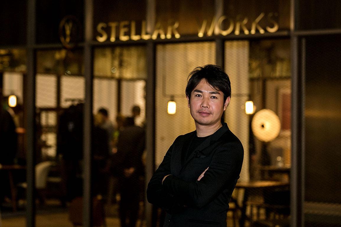 Stellar Works' CEO Yuichiro Hori