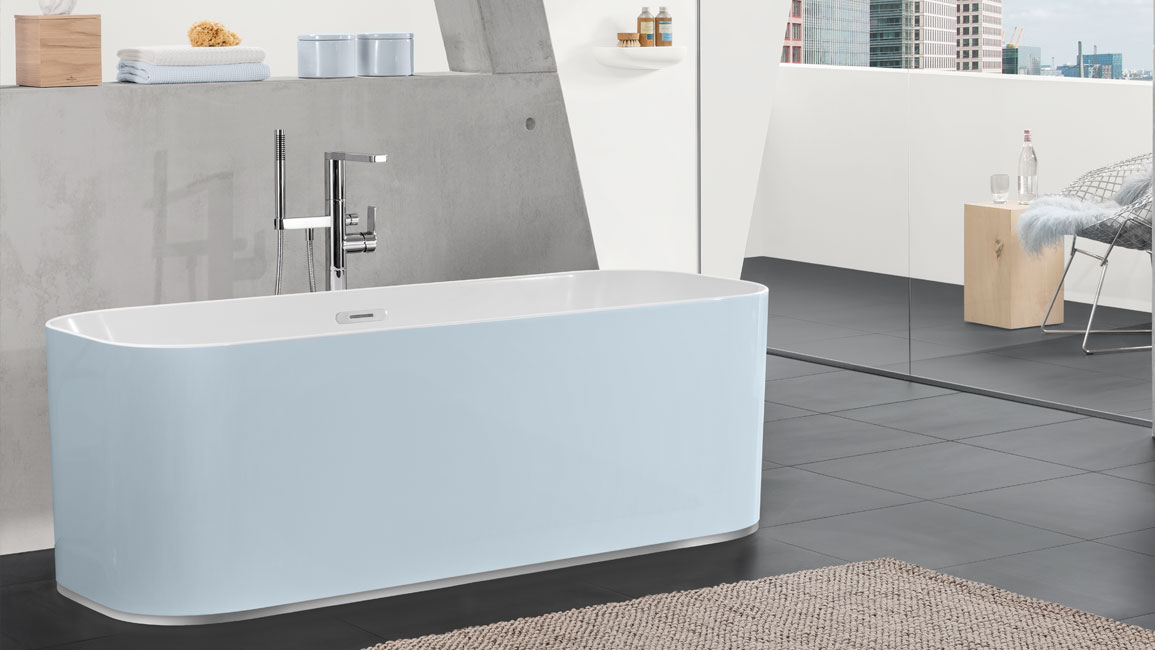 The Quaryl bath from the Finion collection